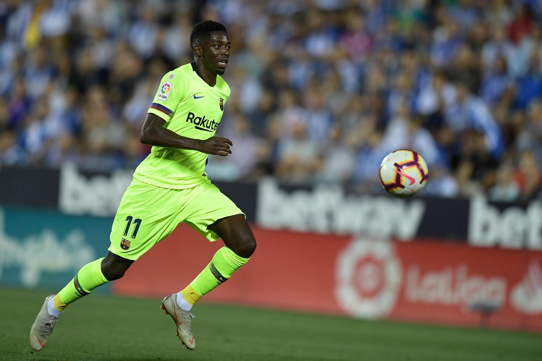Bild zu Ousmane Dembélé, FC Barcelona, La Liga, Primera Division, CD Leganes