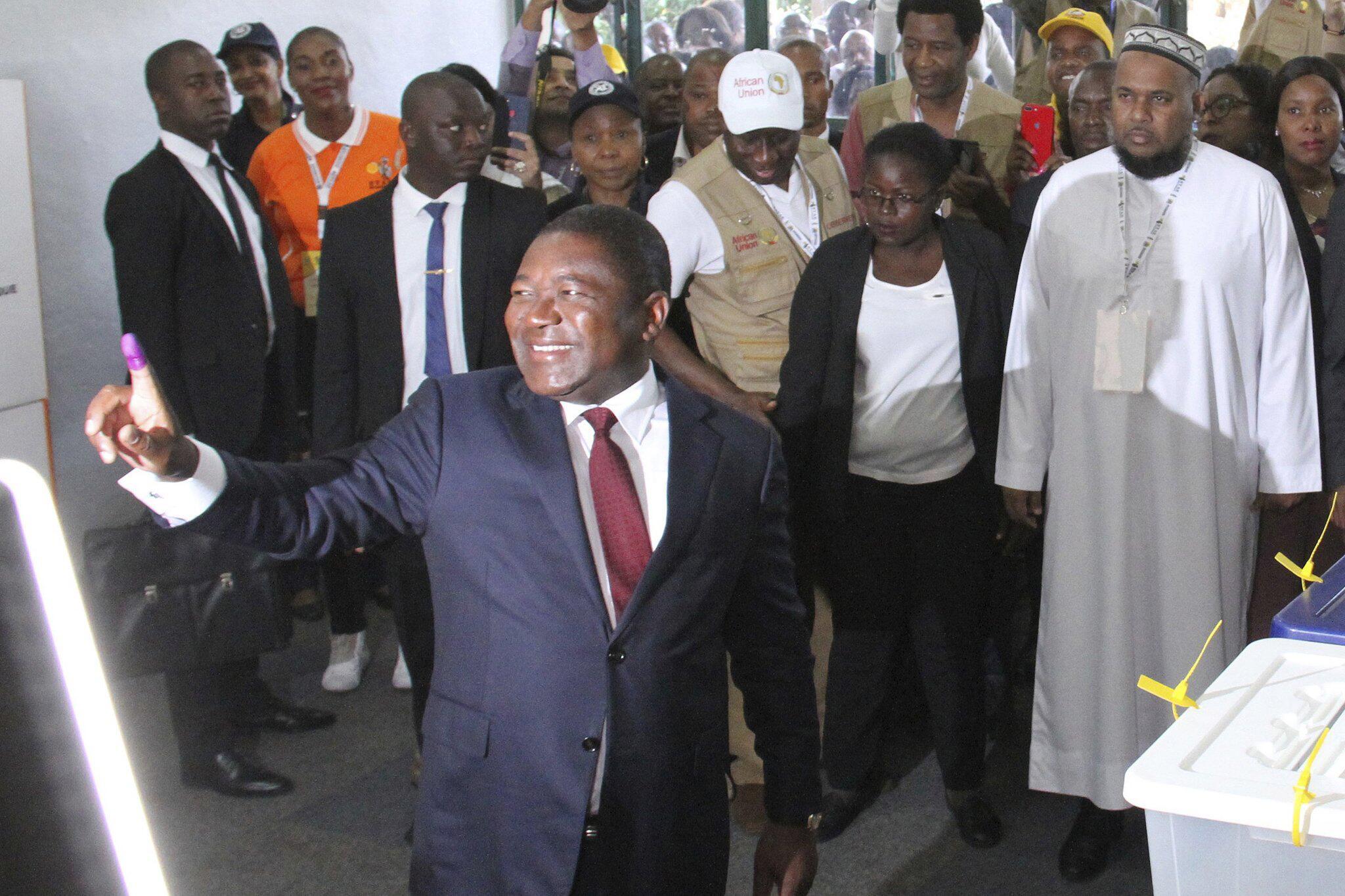 Bild zu Präsidenten- und Parlamentswahlen in Mosambik