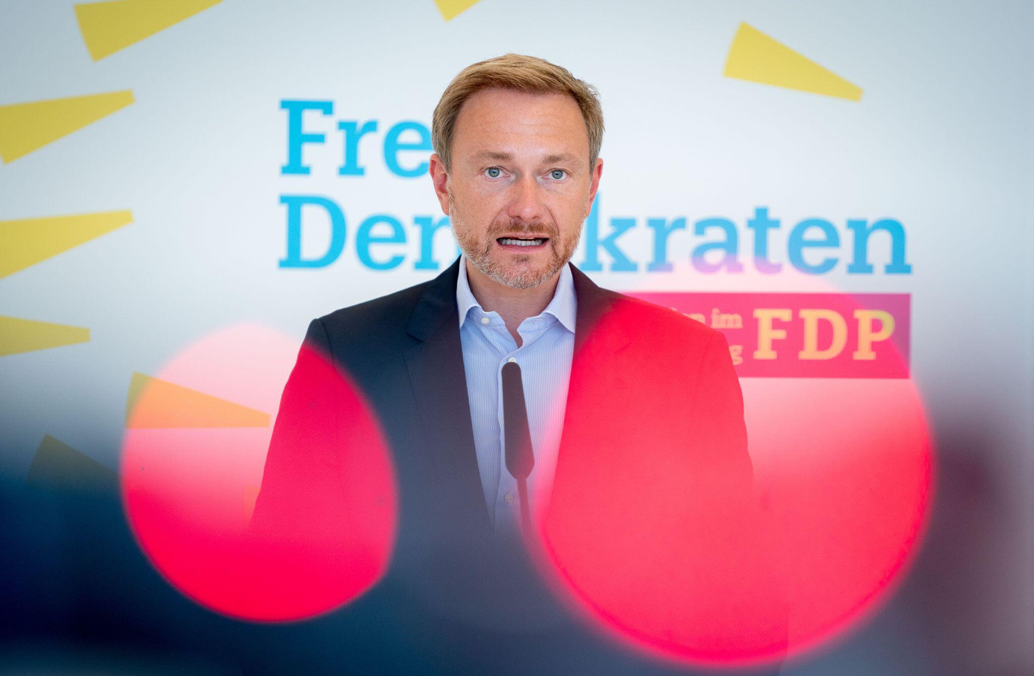 Bild zu FDP-Chef Christian Lindner