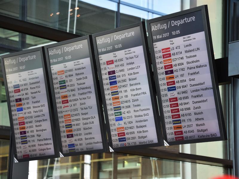 Bild zu Airline informiert über Flugzeiten