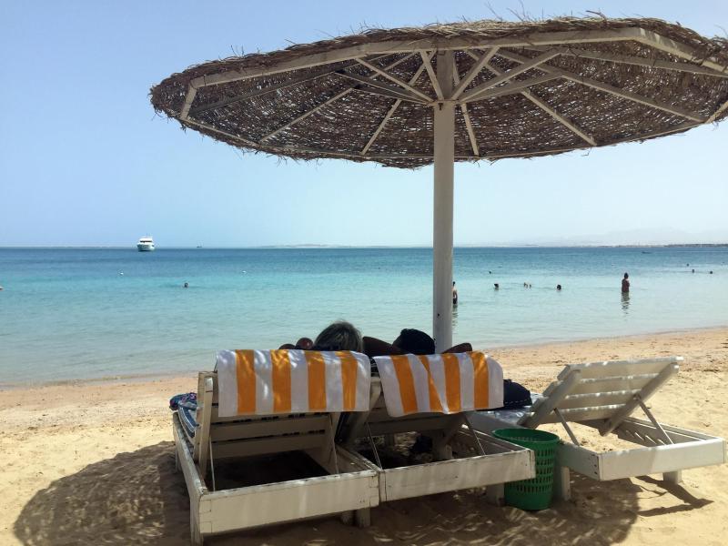 Bild zu Strand von Hurghada in Ägypten