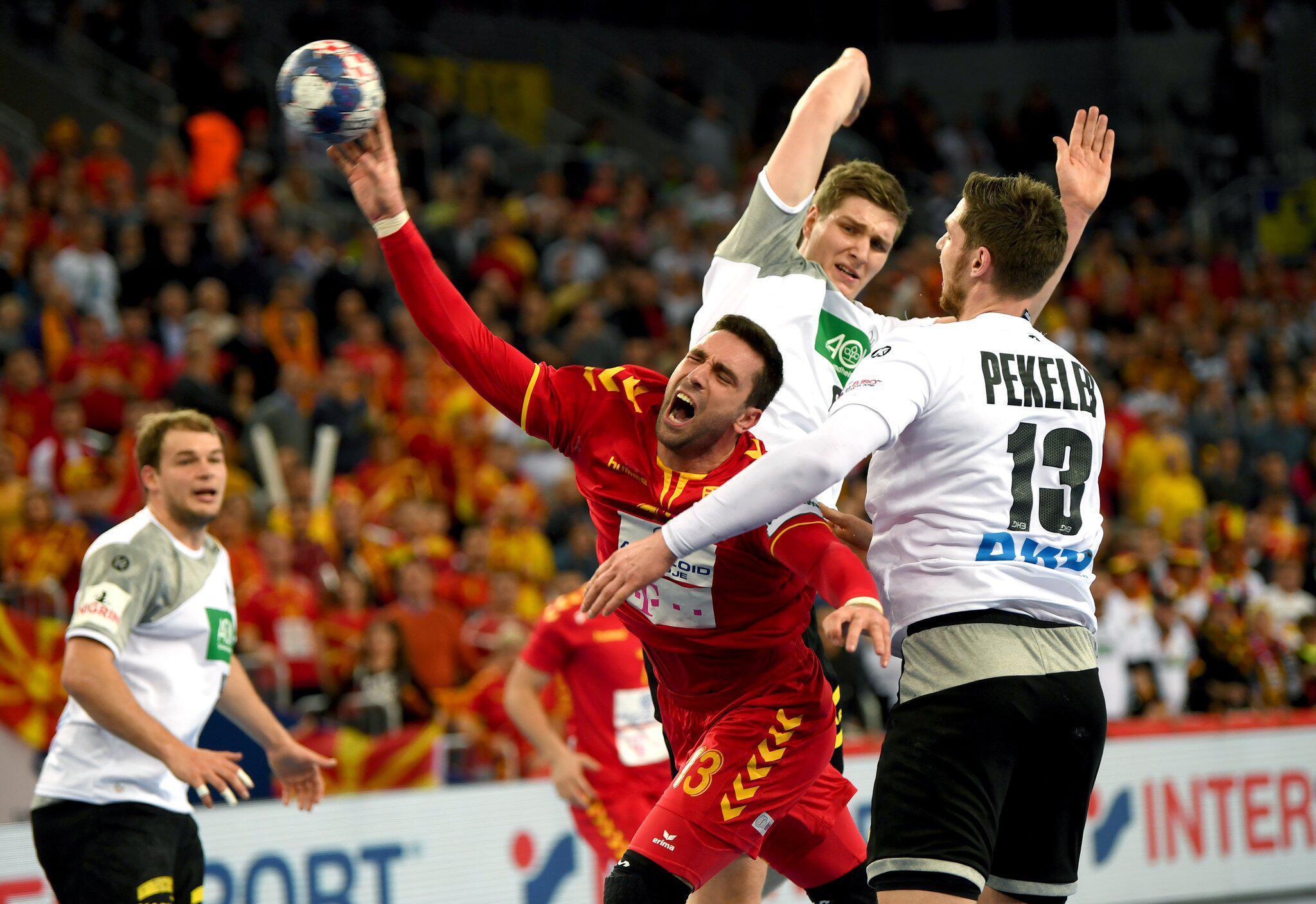Bild zu Handball EM, Deutschland, Makedonien, Remis