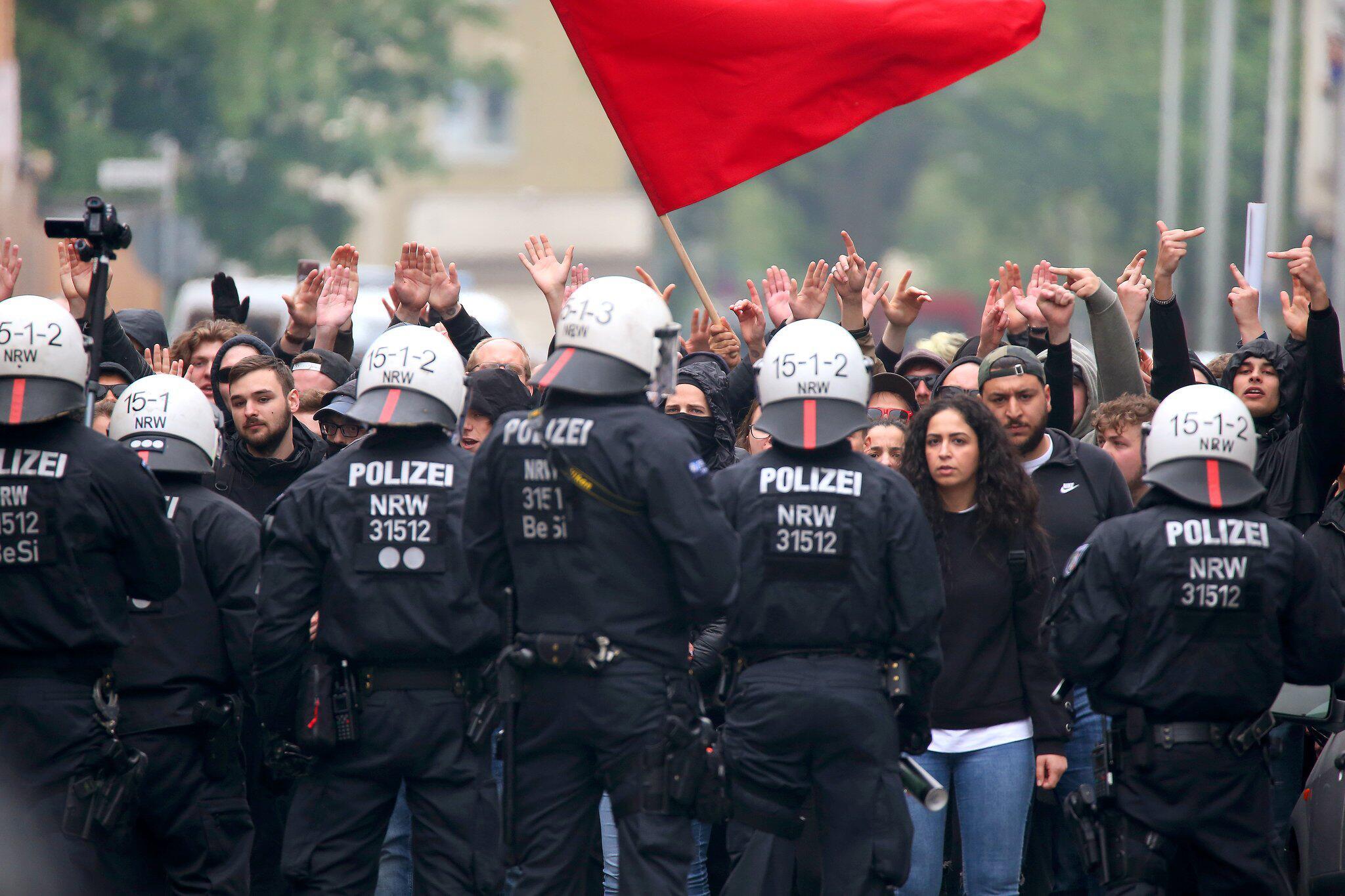 Bild zu 1. Mai - Duisburg