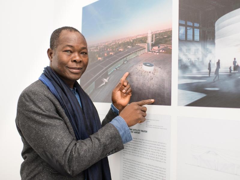 Bild zu Werksschau über Architekt Francis Kéré