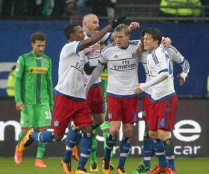 Bundesliga, 21. Spieltag. Hamburger SV, Borussia Mönchengladbach