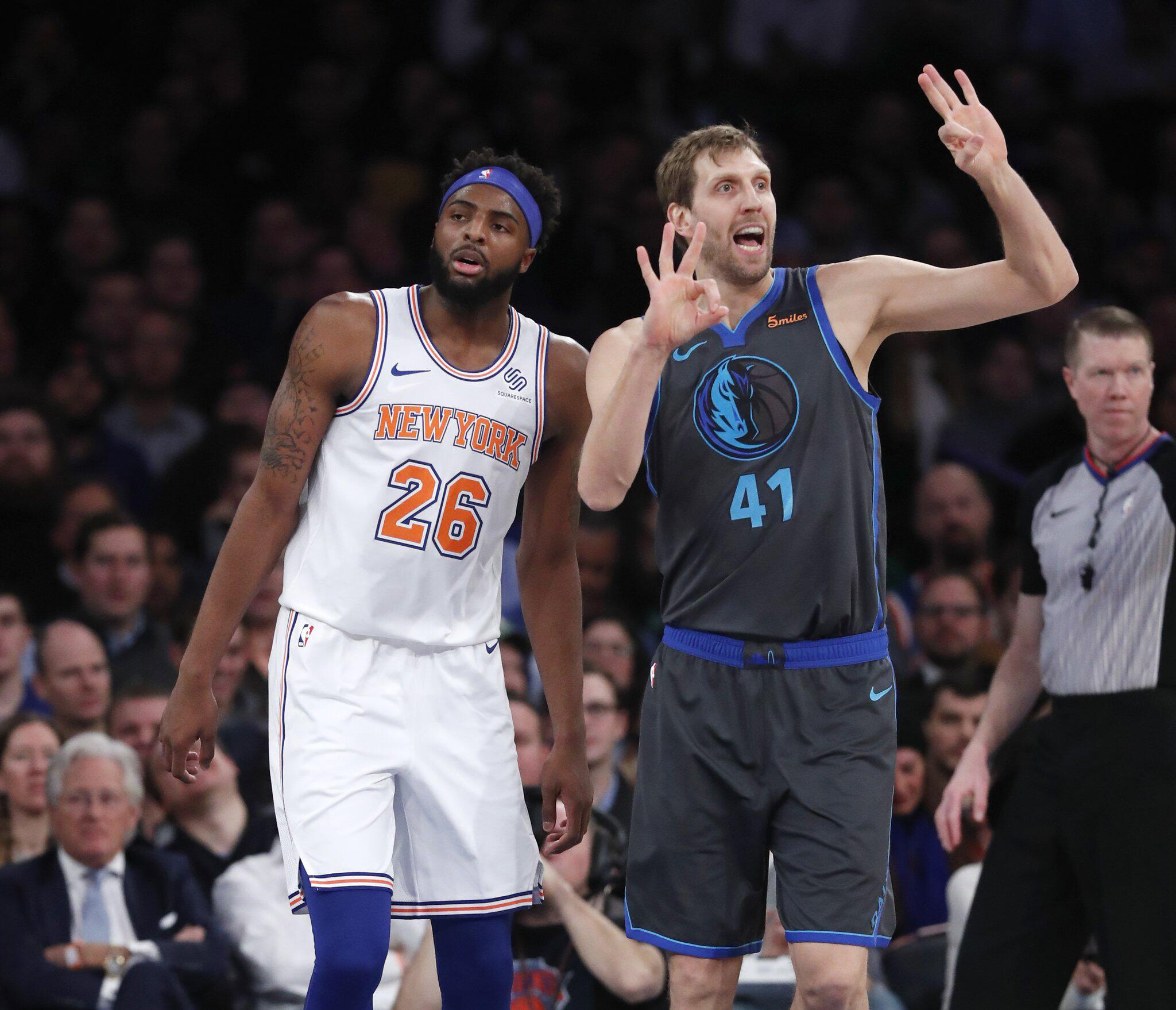 Bild zu New York Knicks - Dallas Mavericks