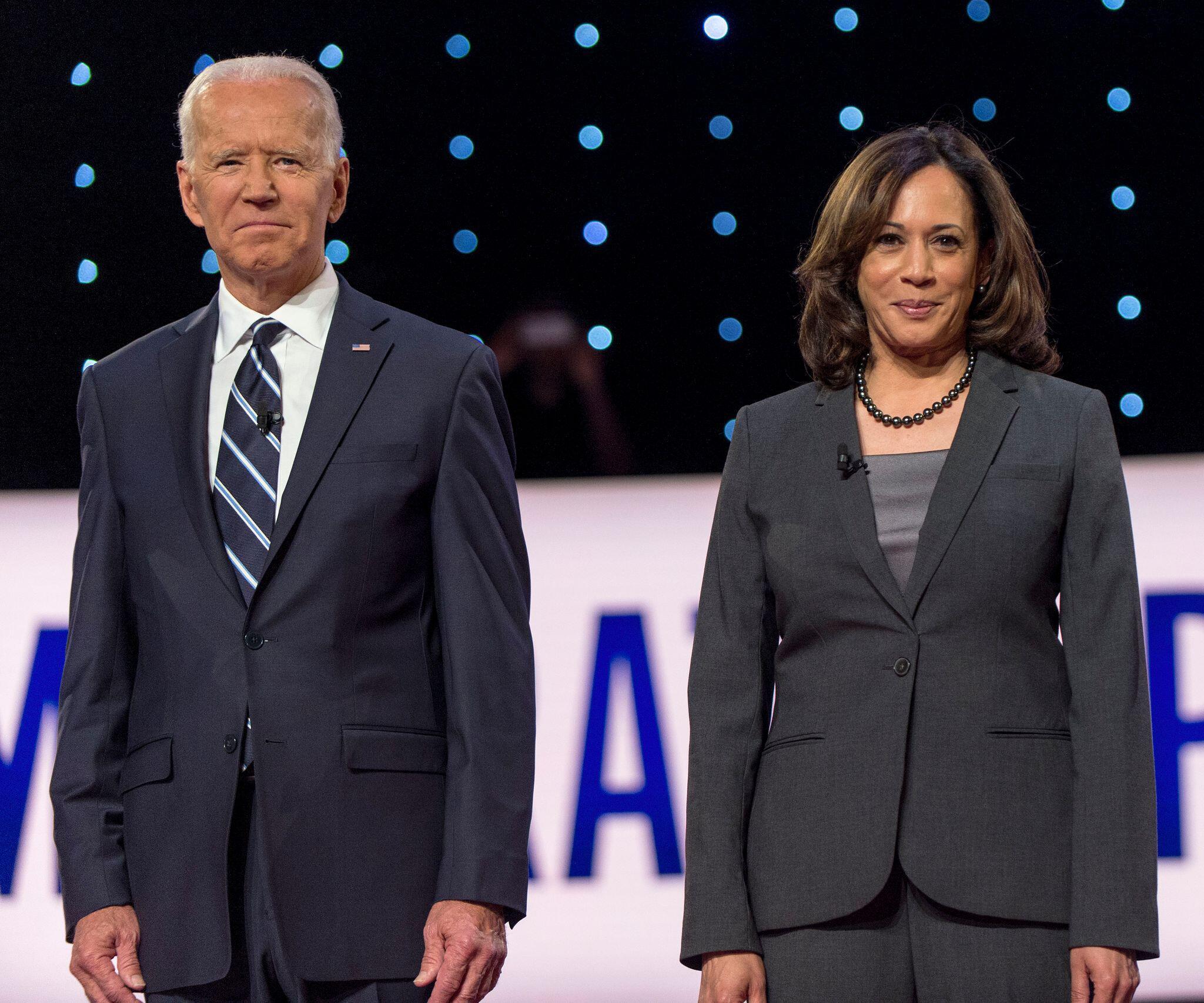 Bild zu Joe Biden wählt Kamala Harris zu seinem Vizekandidaten