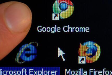 Browserauswahl entfernt