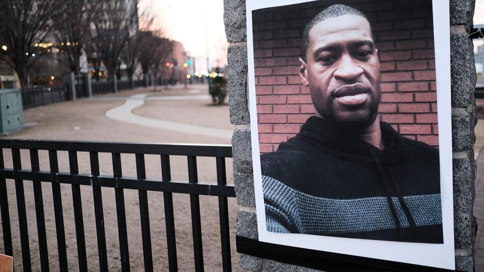 Mahnwache für George Floyd in Atlanta