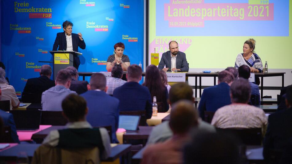 Landesparteitag der FDP Sachsen-Anhalt