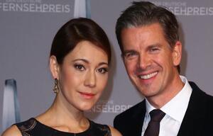 Freude bei Markus Lanz und seiner Angela