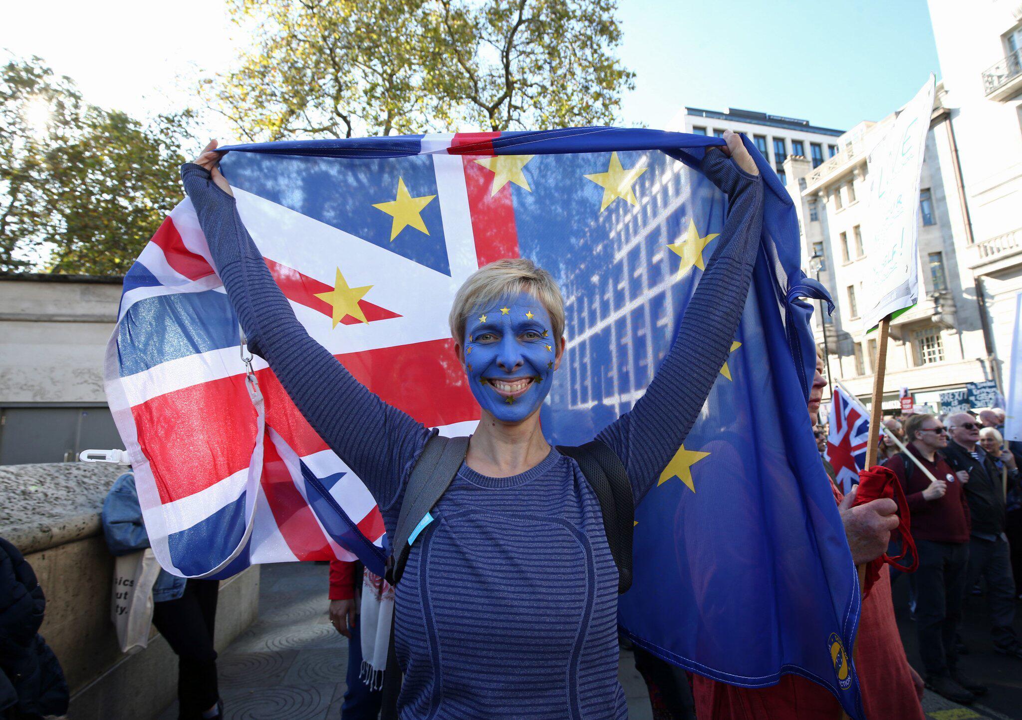 Bild zu Demonstration für ein zweites Brexit-Referendum in London