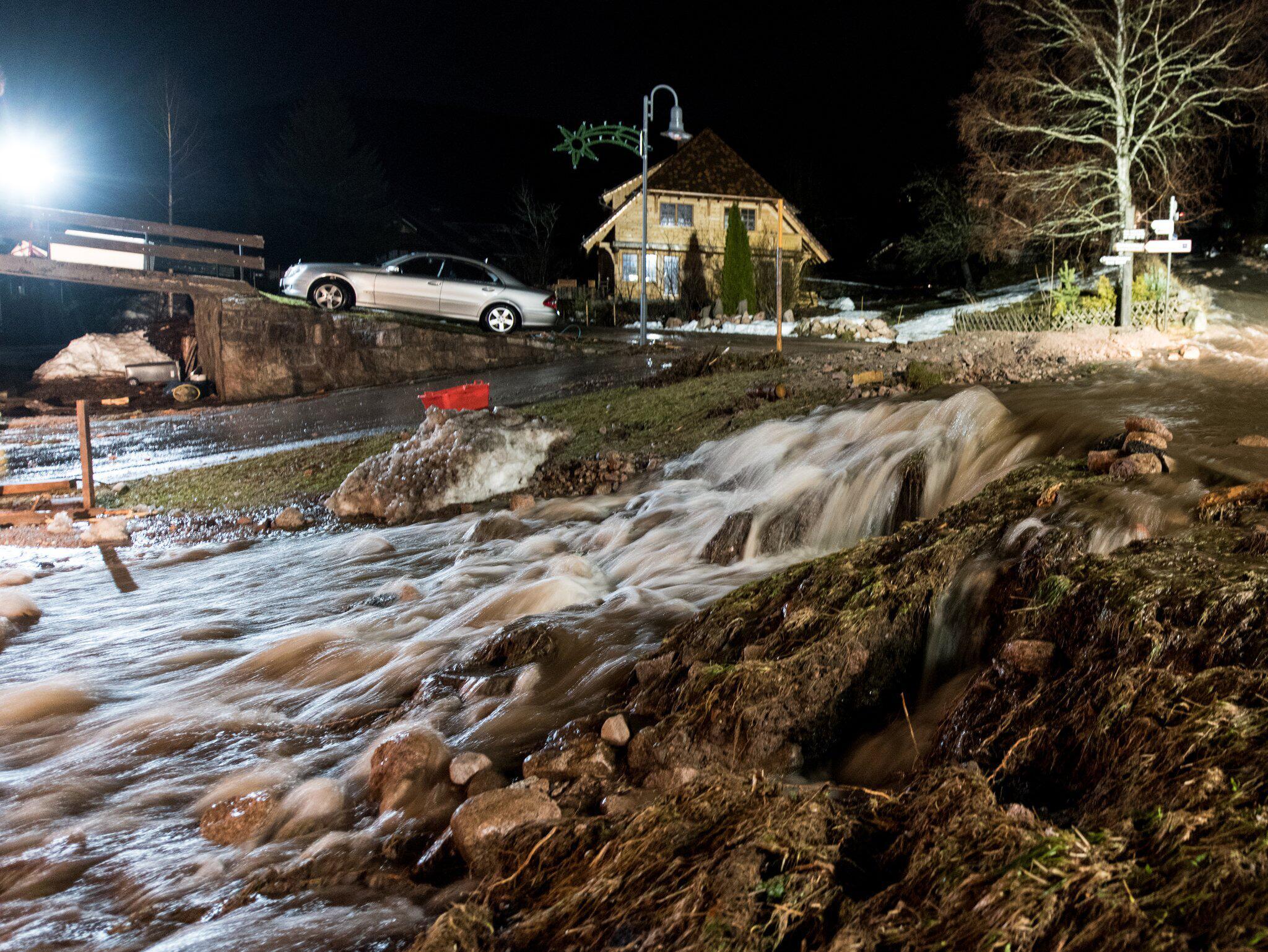 Bild zu Hochwasser in Menzenschwand