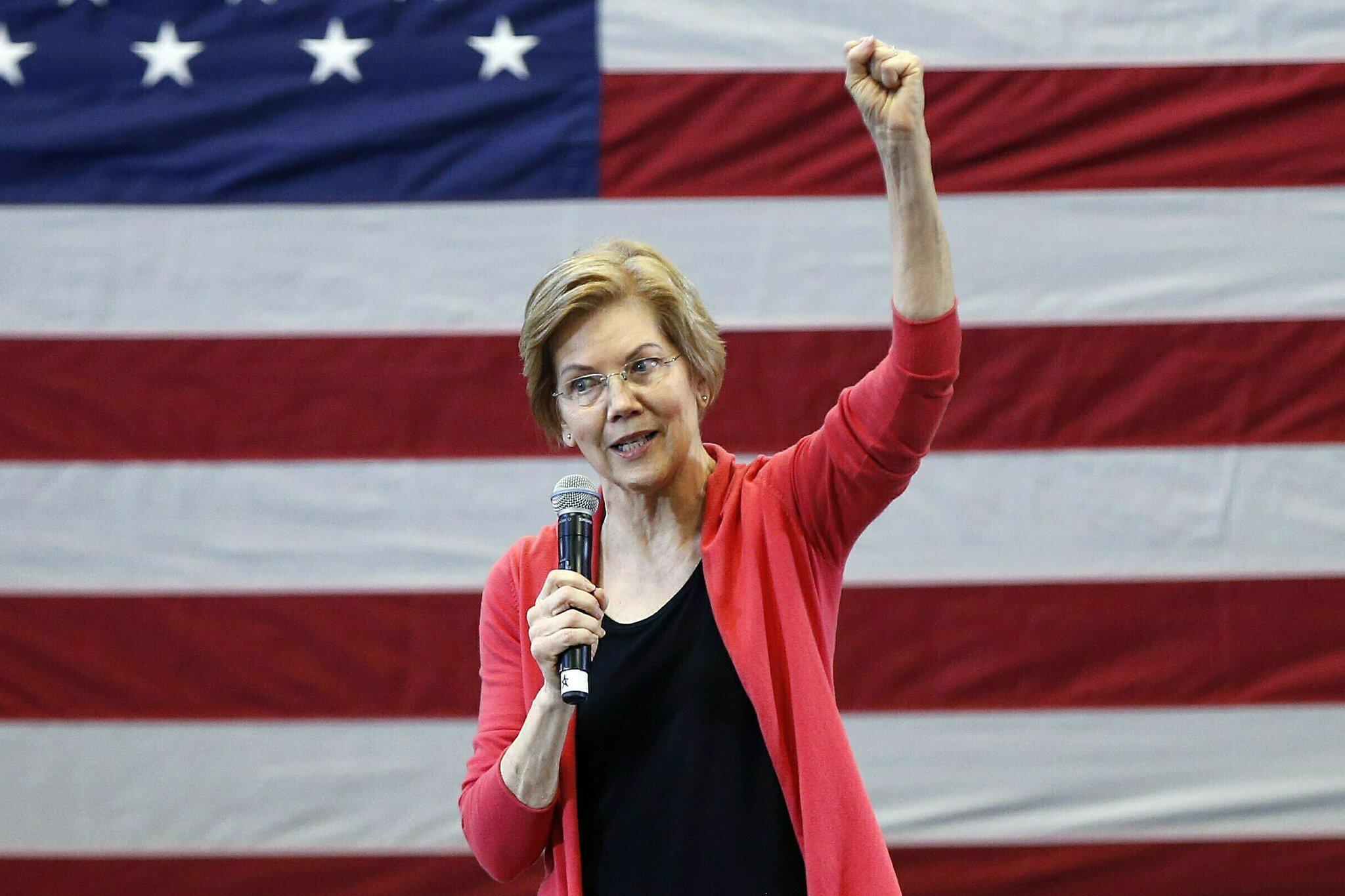 Bild zu US, Präsidentschaftskandidatur, Elizabeth Warren, Donald Trump