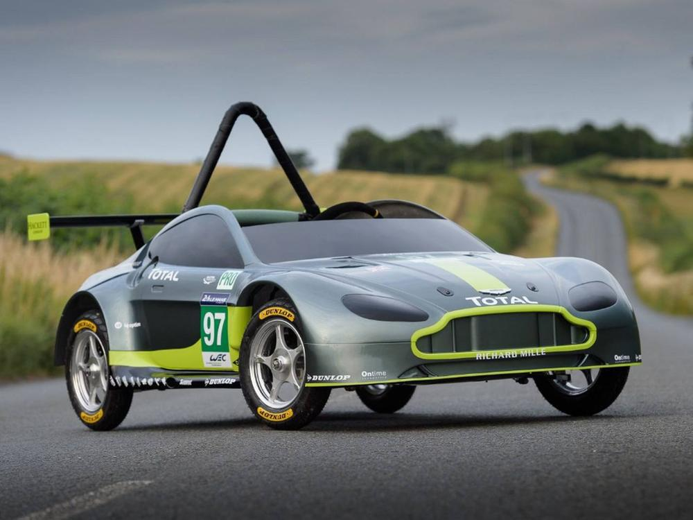 Bild zu Aston Martin Soapbox Racer