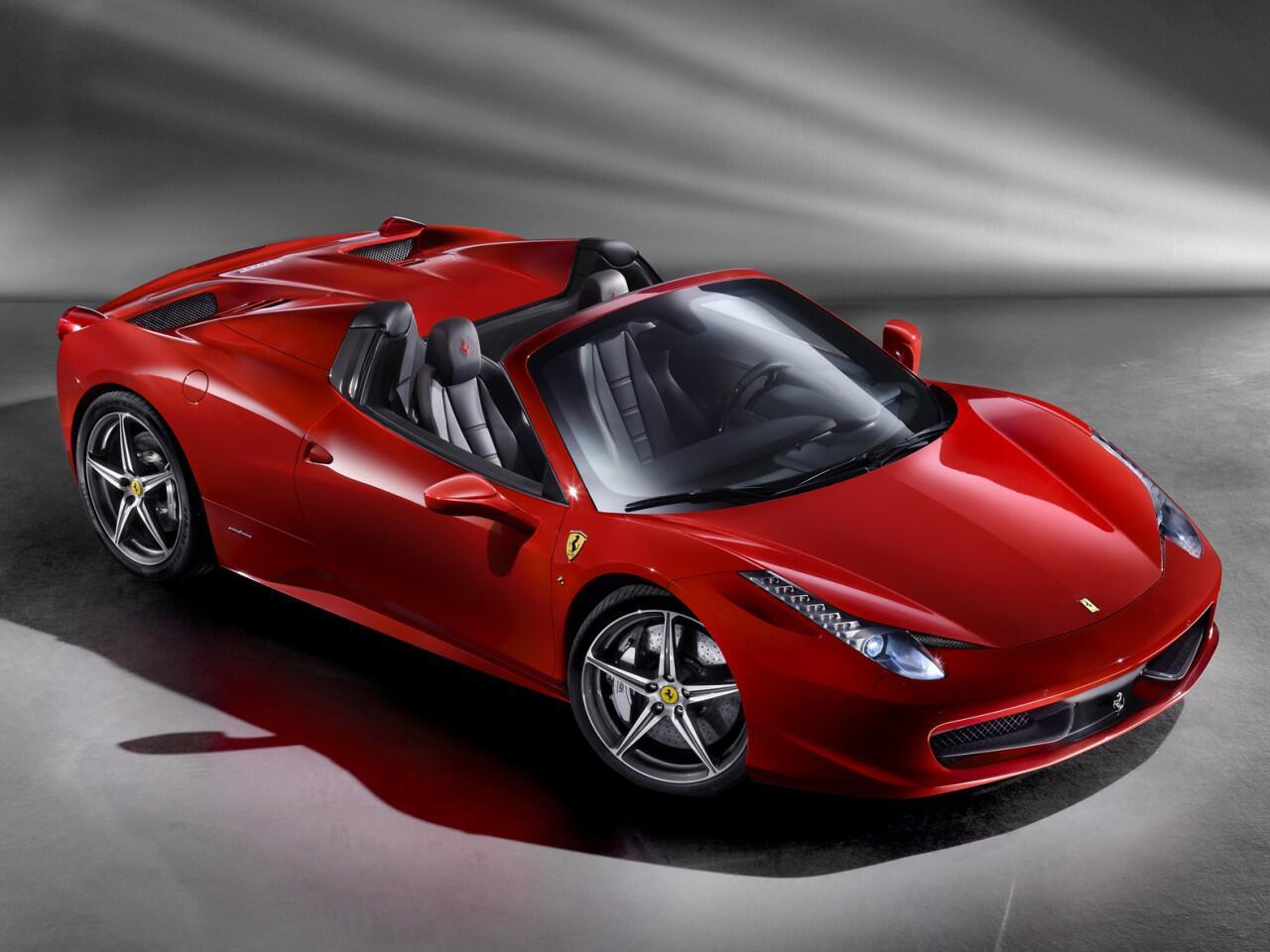 Bild zu Ferrari 458 Spider