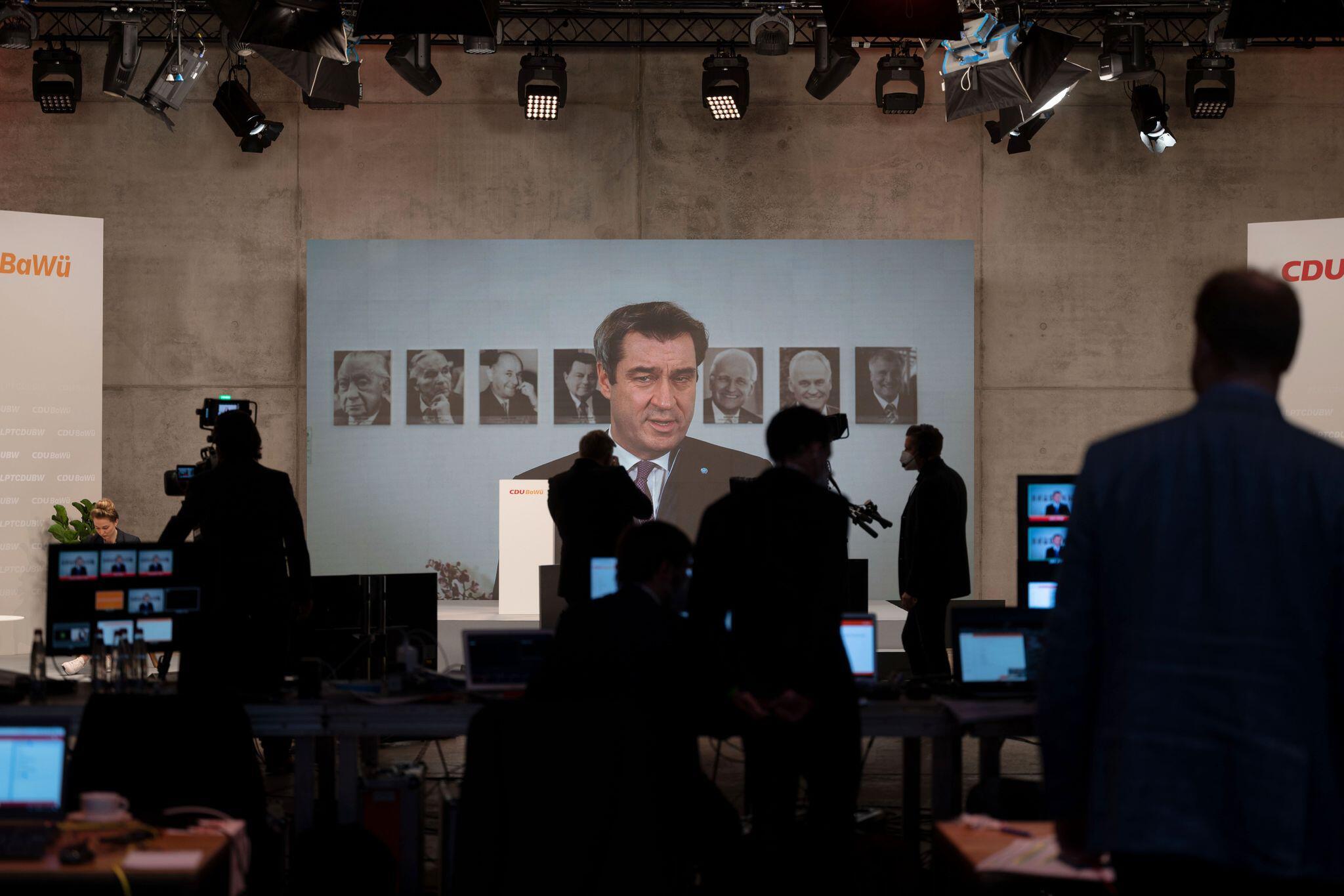 Bild zu Online-Parteitag CDU Baden-Württemberg