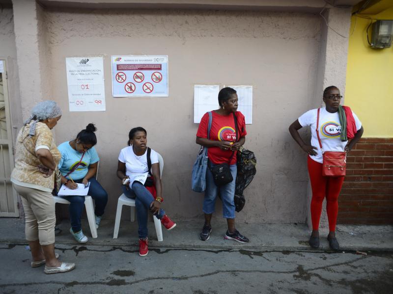 Bild zu Wahllokal
