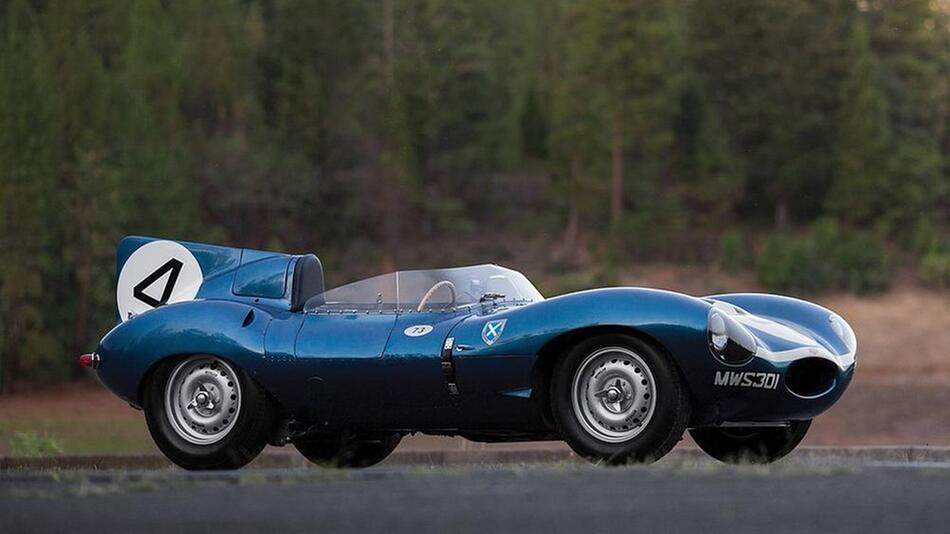 Jaguar D-Type von 1955