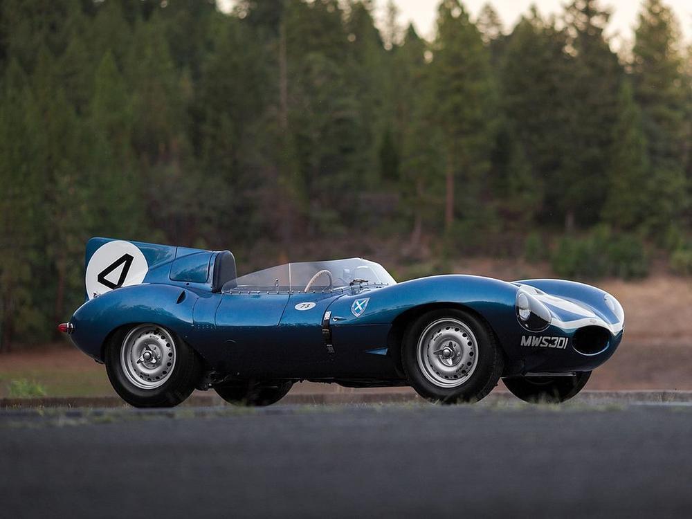 Bild zu Jaguar D-Type von 1955