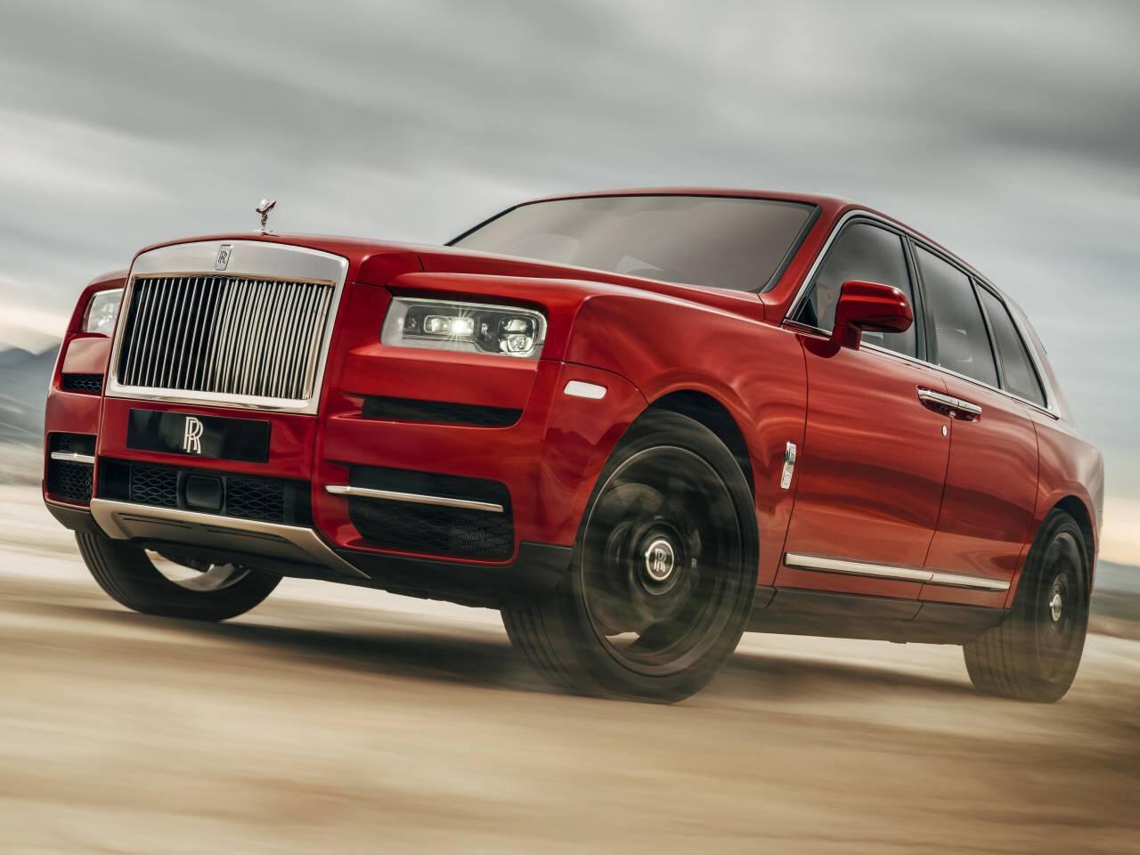 Bild zu Ankündigung Rolls-Royce Cullinan