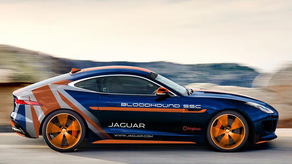 Jaguar F-Type Rapid Response Vehicle