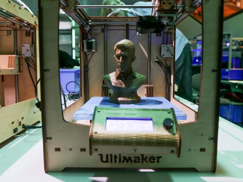 Bild zu 3D-Drucker im Einsatz