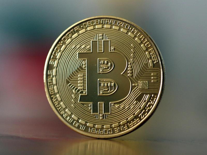 Bild zu Bitcoin-Münze