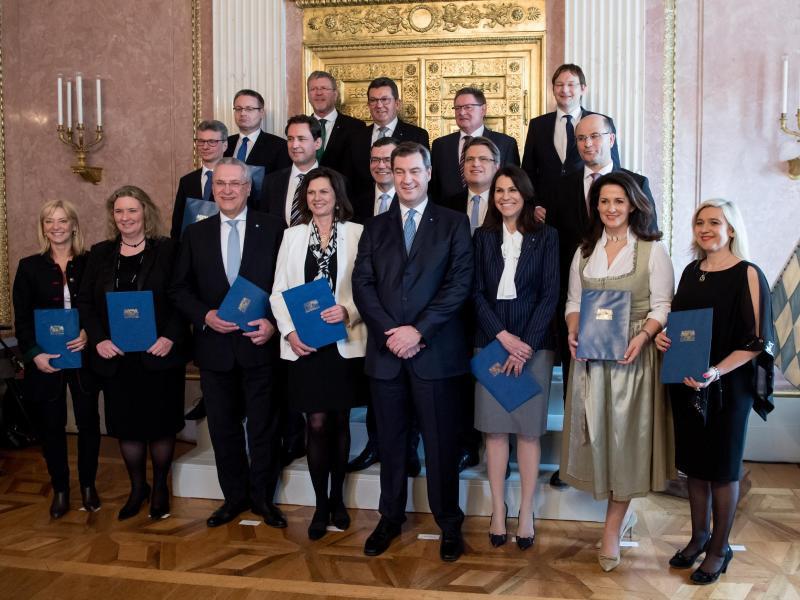Bild zu Bayerisches Kabinett