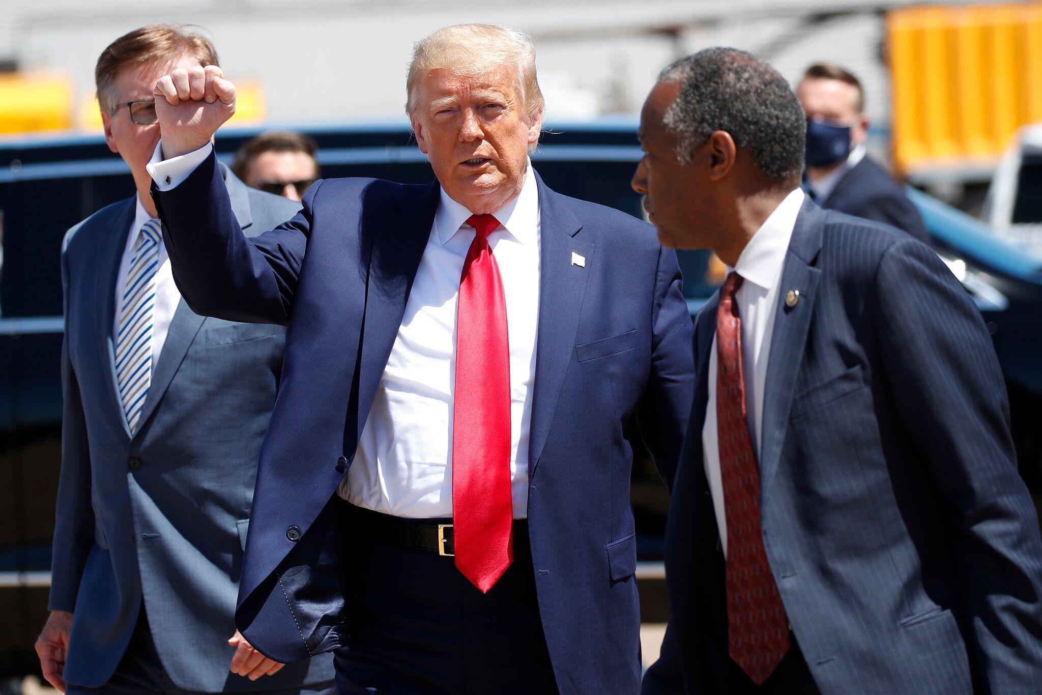 Bild zu US-Präsident Trump in Texas