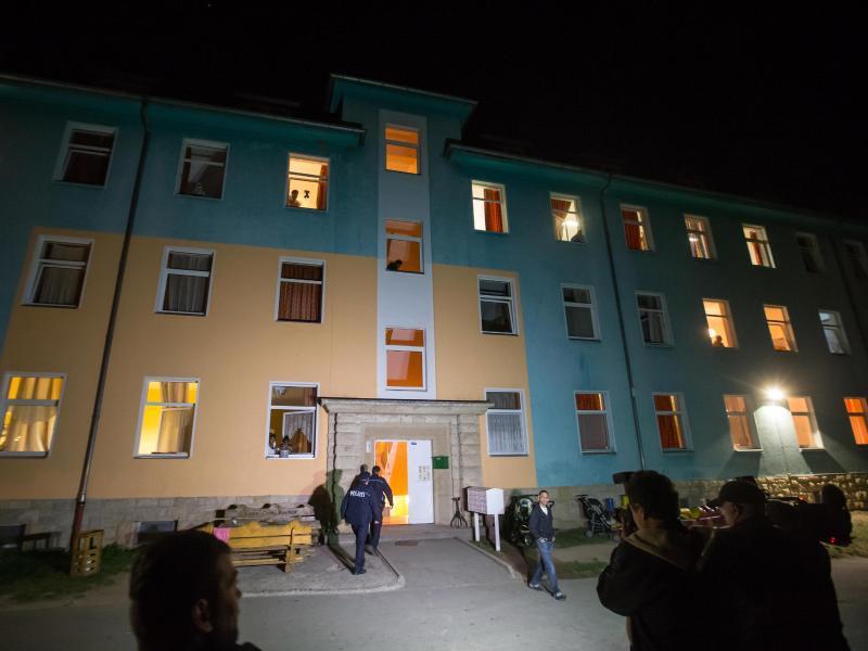 Bild zu Toter nach Brand in Asylbewerberheim