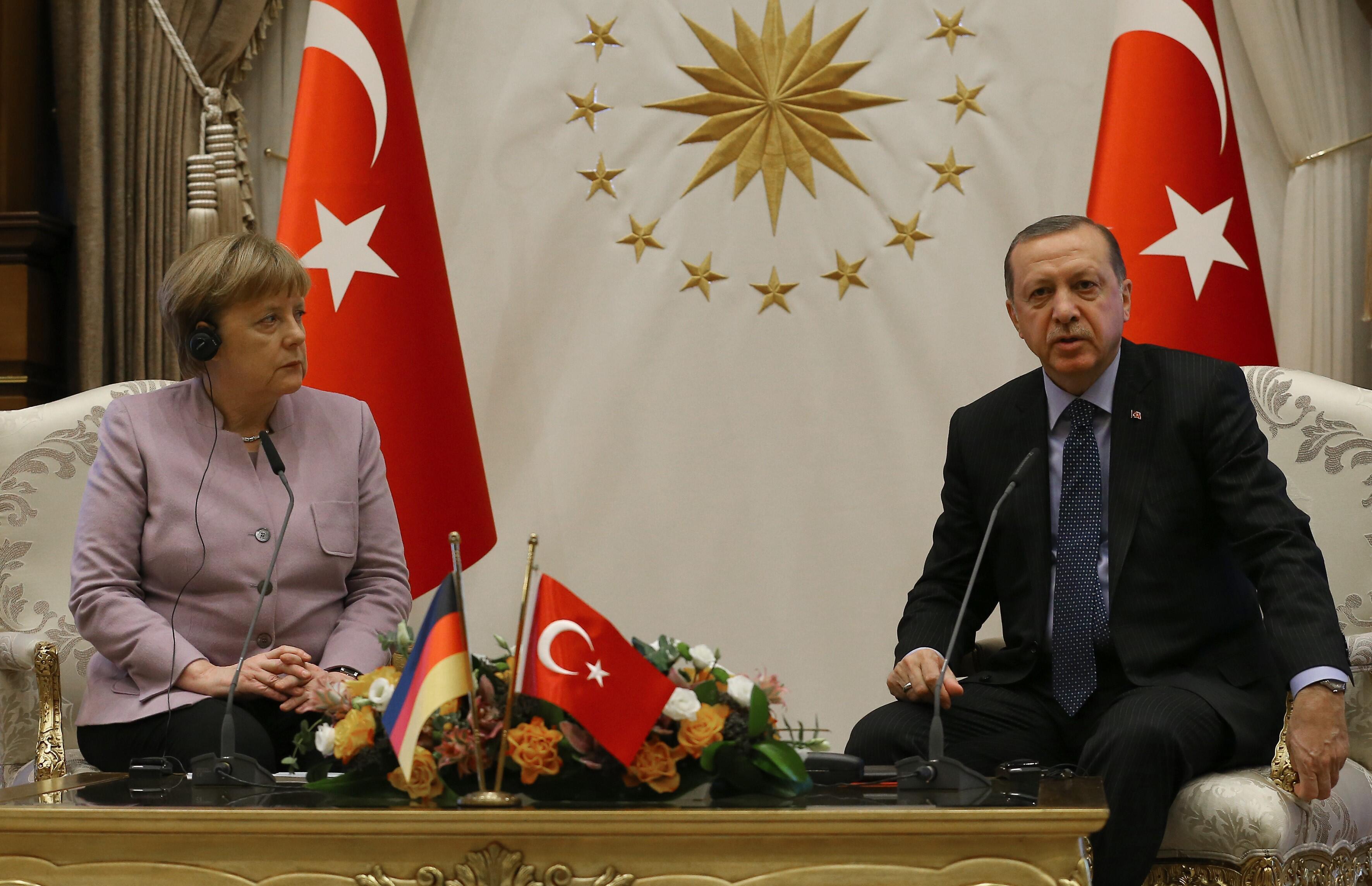 Bild zu Angela Merkel, Recep Tayyip Erdogan
