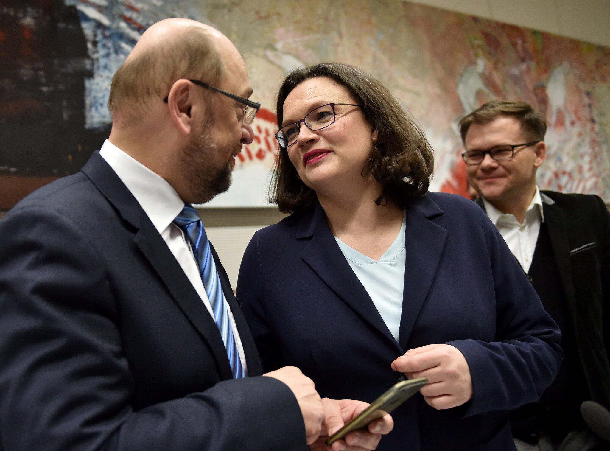 Bild zu Coalition negotiations of CDU/CSU and SPD