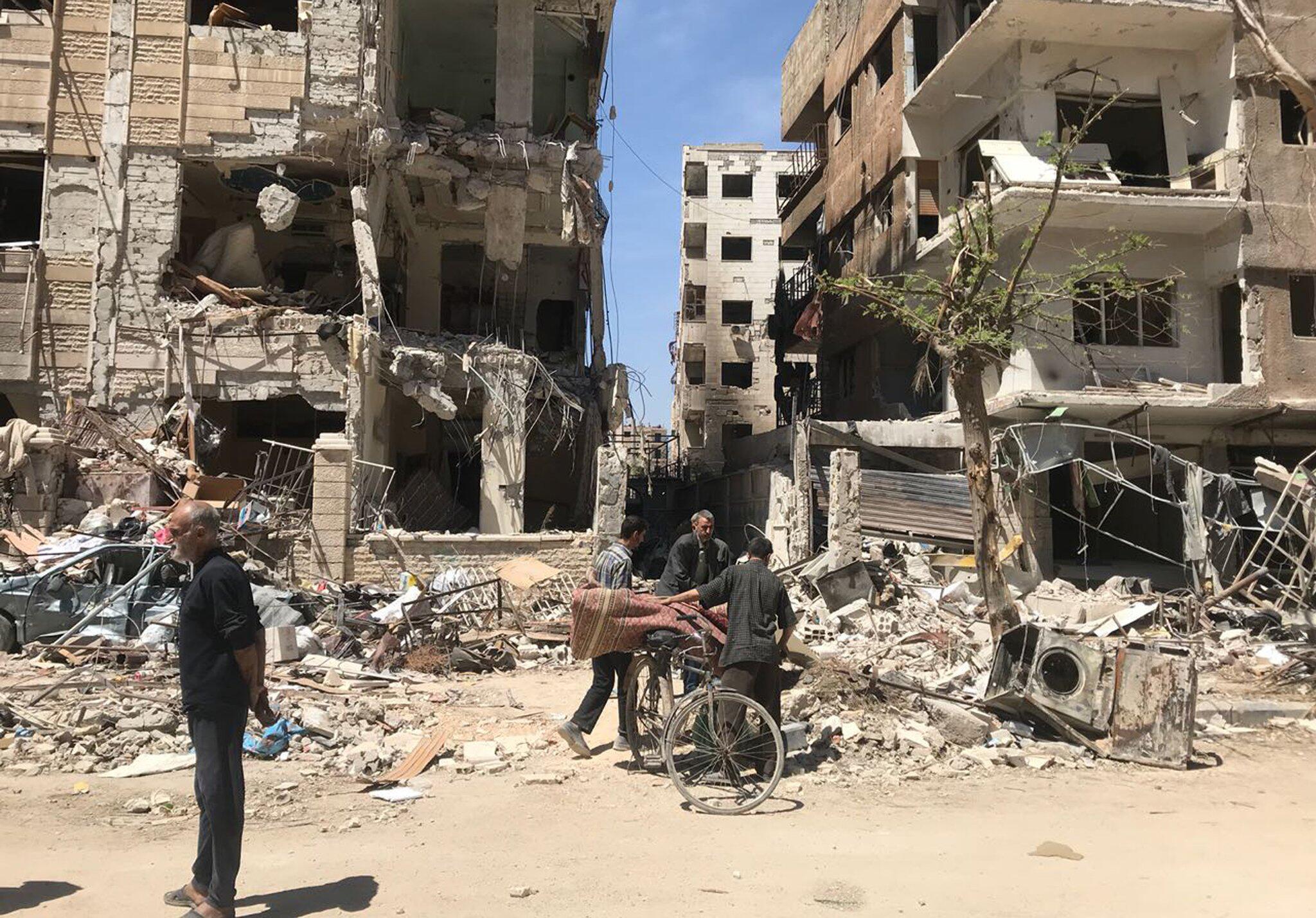 Bild zu Syrien, Duma