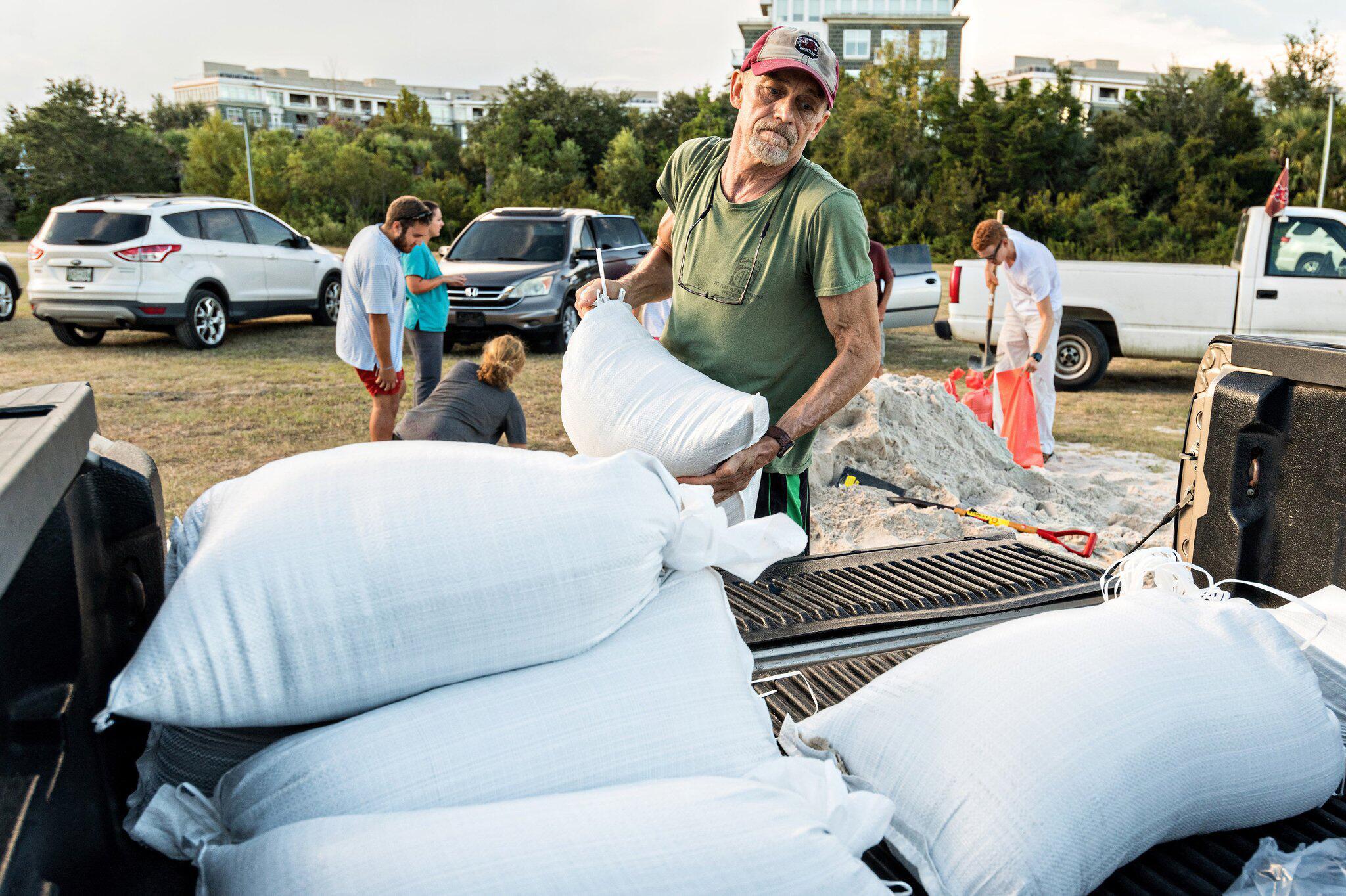 """Bild zu Hurrikan """"Florence"""" steuert auf USA zu"""
