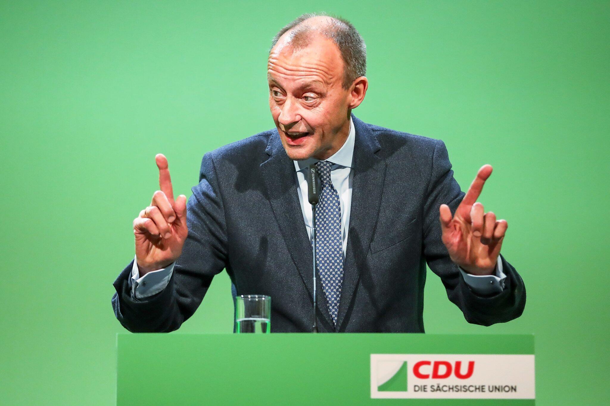 Bild zu Landesparteitag CDU Sachsen