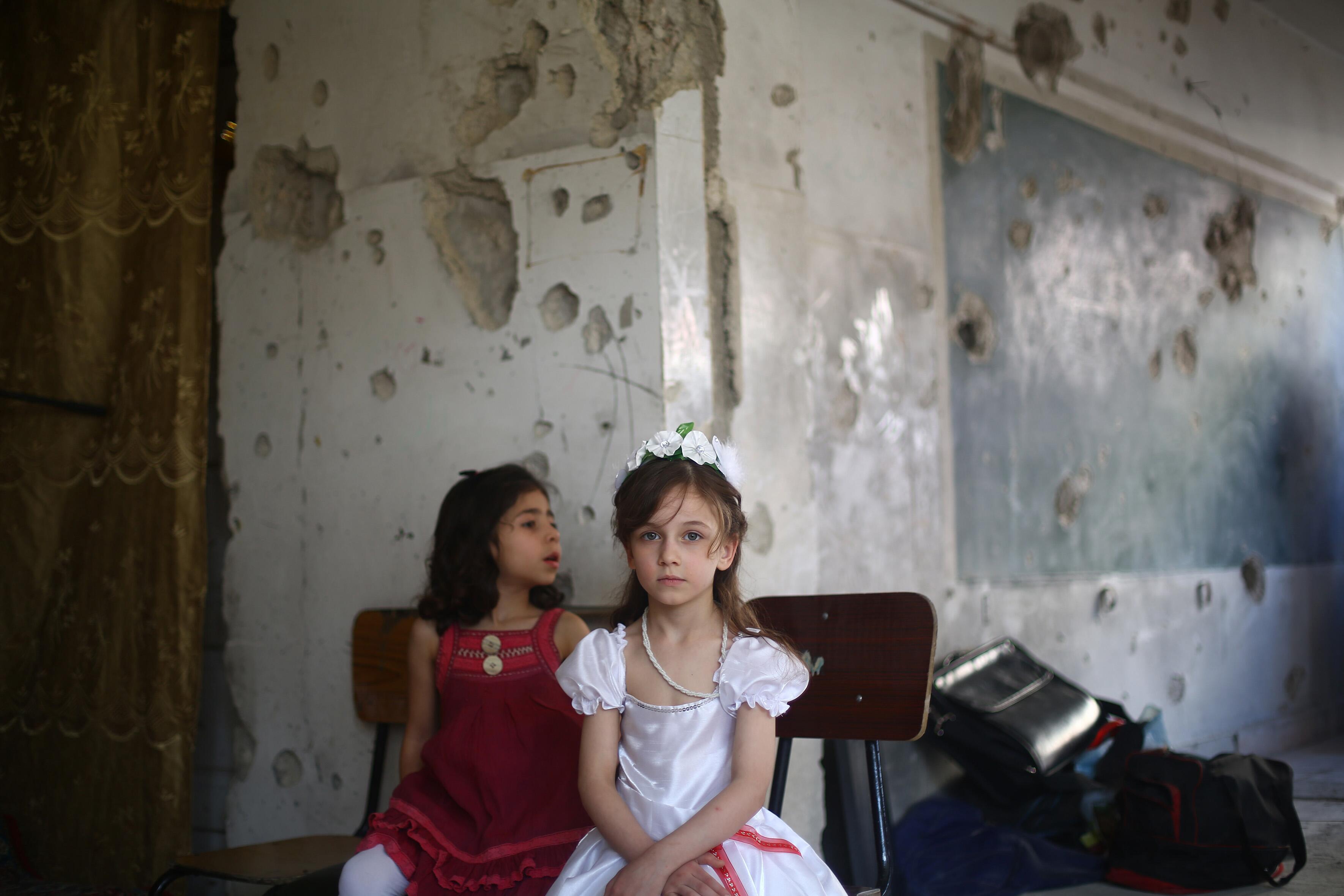 Bild zu Kinder, Krieg, Syrien