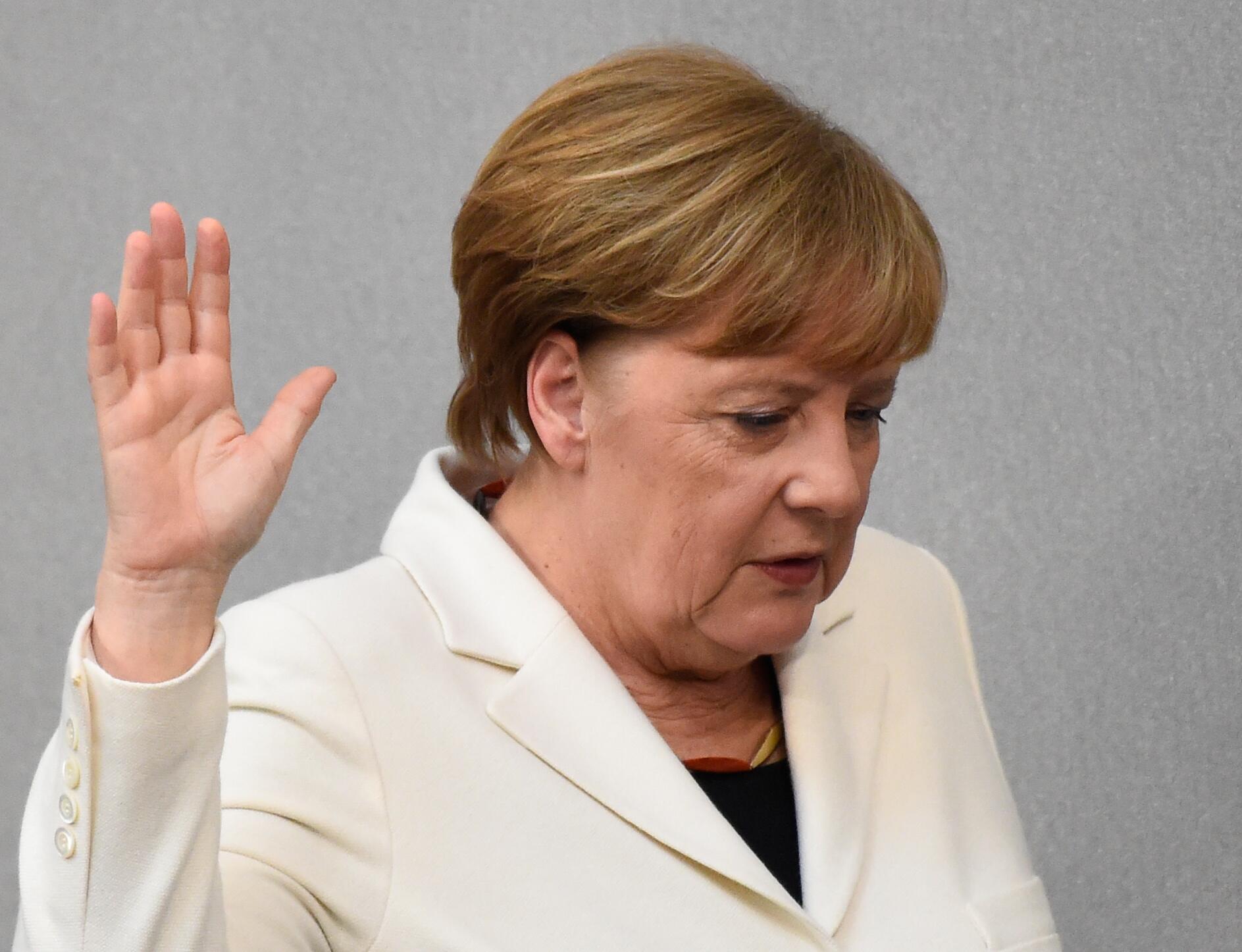 Bild zu Angela Merkel, Bundestagswahl, Wahl, Bundestag