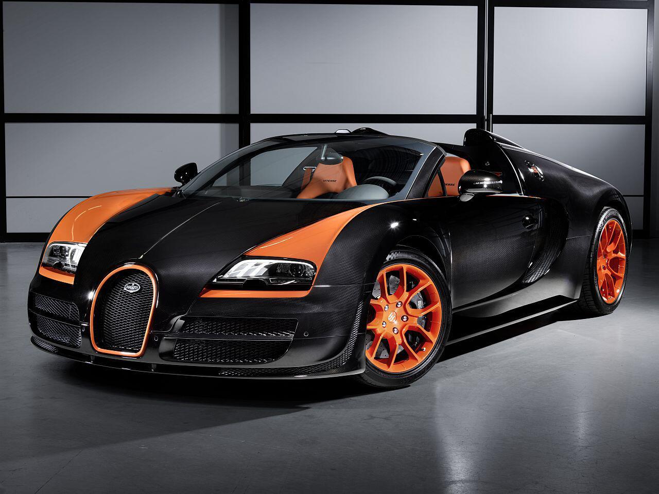 Bild zu Bugatti Veyron Grand Sport Vitesse