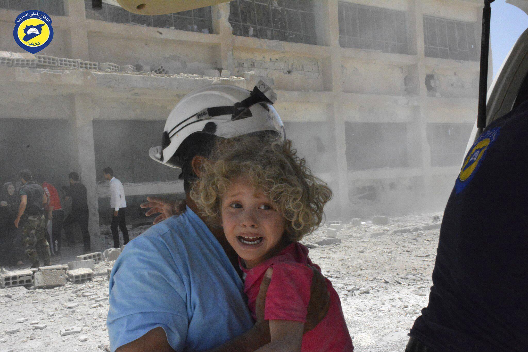 Bild zu Weißhelme in Syrien