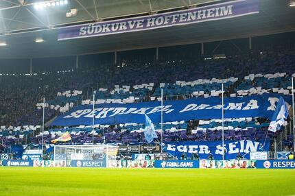 Fans von der TSG 1899 Hoffenheim.