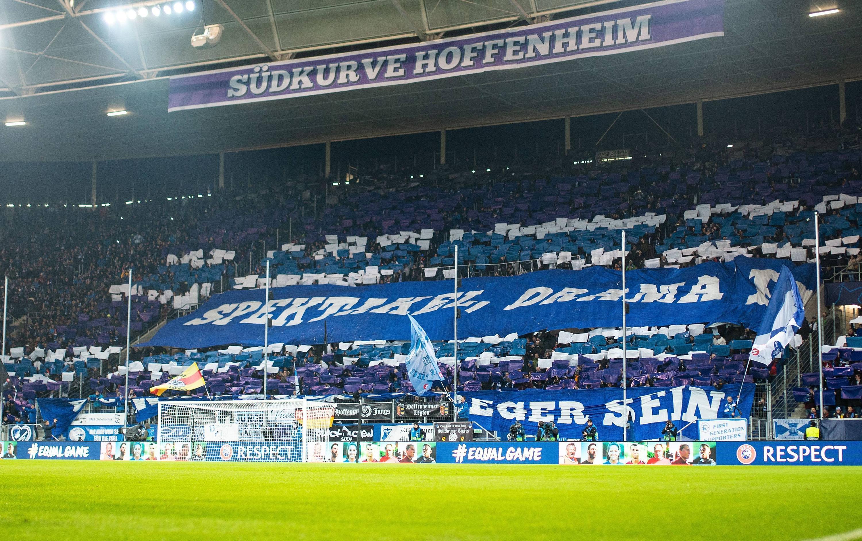 Bild zu Fans von der TSG 1899 Hoffenheim.