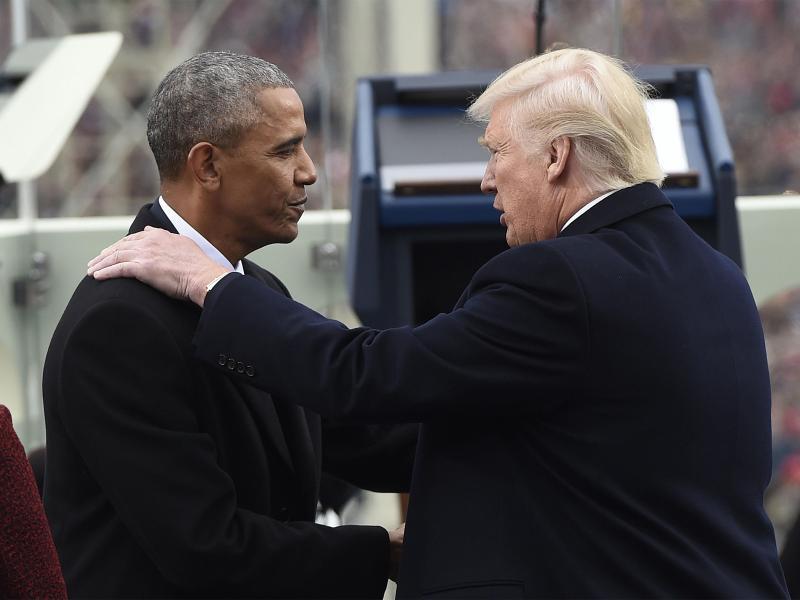 Bild zu Wechsel im Weißen Haus