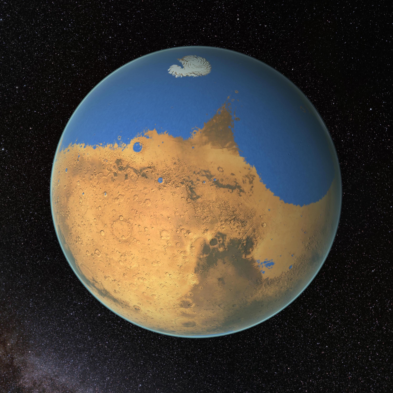 Bild zu Mars Ozean