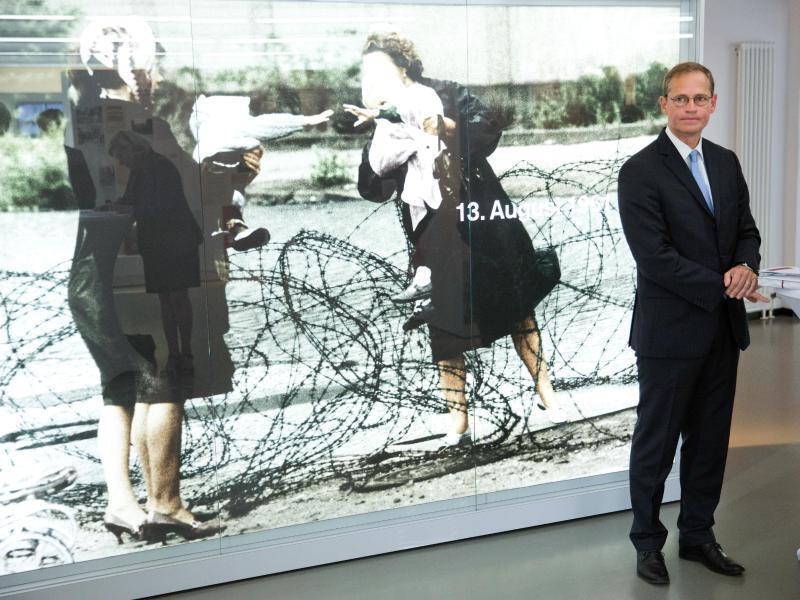 Bild zu Müller in Mauergedenkstätte