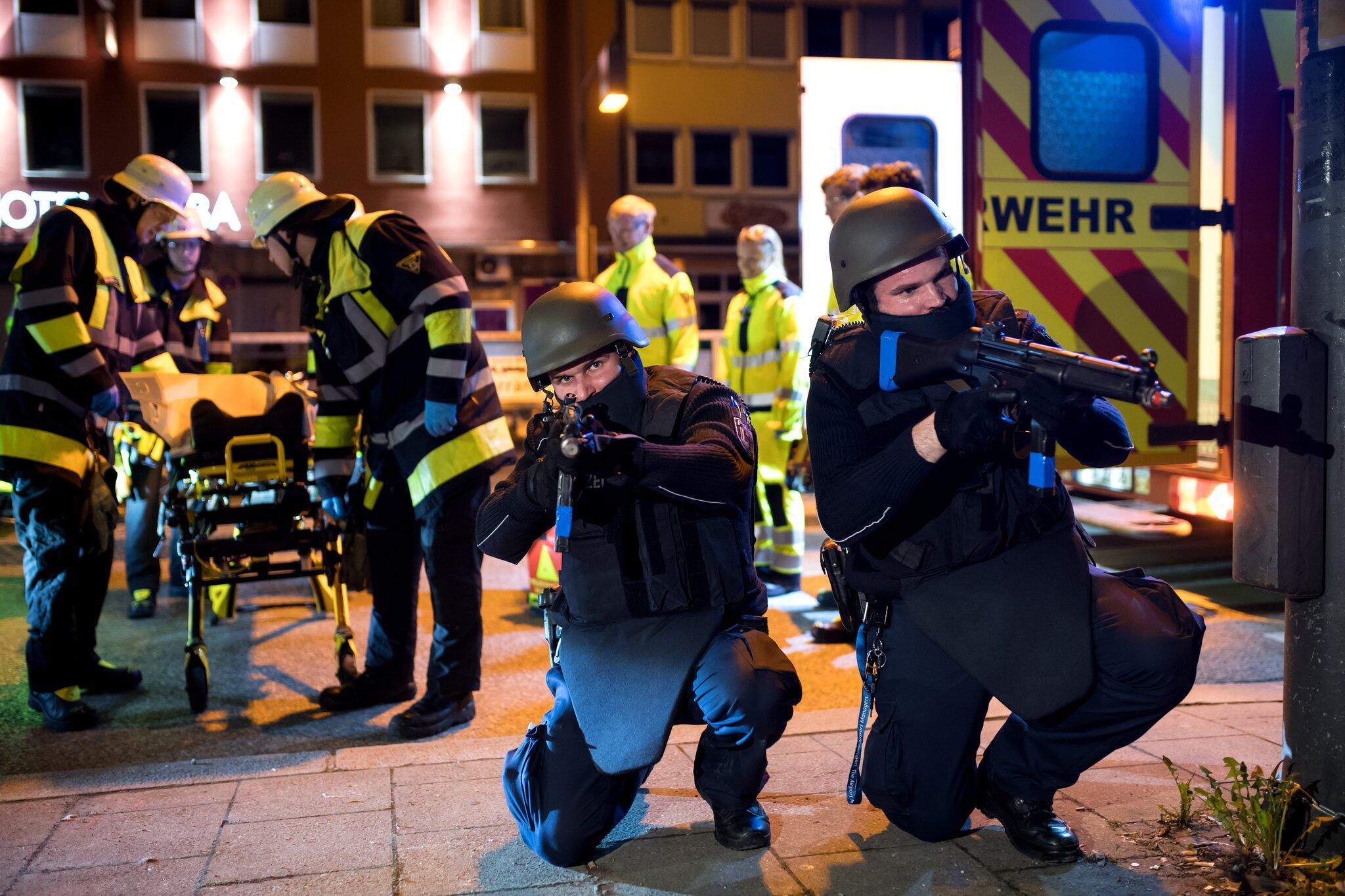 Bild zu Anti-Terrorübung in München