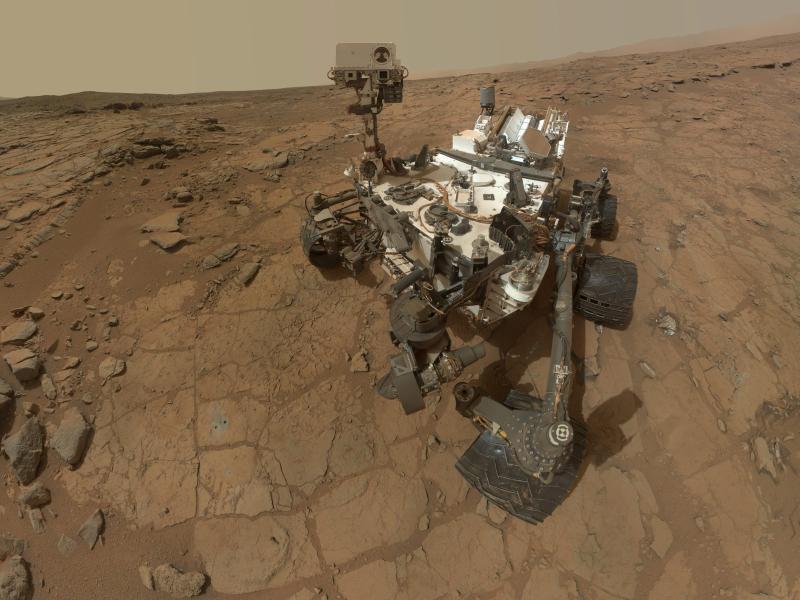 Bild zu Marsrover «Curiosity»