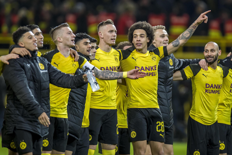 Bild zu Fußball, Bundesliga, BVB, Borussia Dortmund, Reus, Witsel