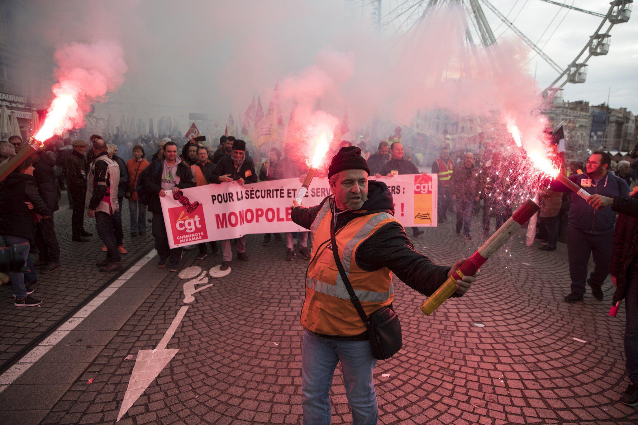 """Bild zu """"Generalstreik"""" in Frankreich"""