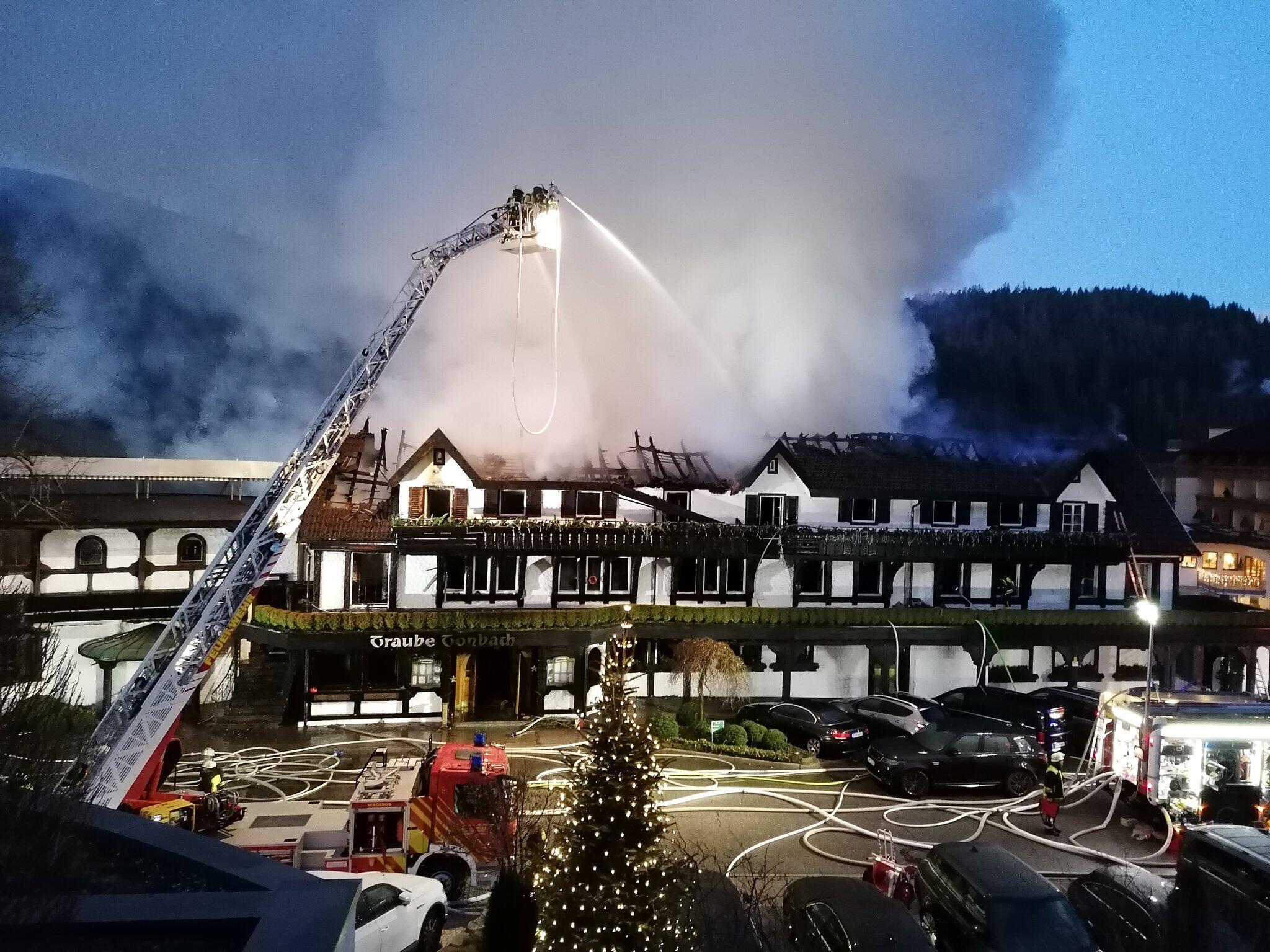 Bild zu Schwarzwaldstube, Baiersbronn, Brand